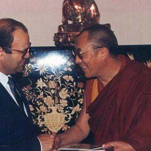 Dalai Lama, New York, 1991 nieuw