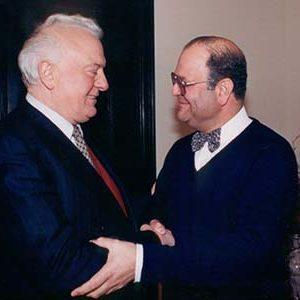 Edward Shevardnadze, President Georgia 1972-1985 nieuw