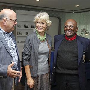 Prinses Irene en Desmond Tutu, Sept. 2012 nieuw